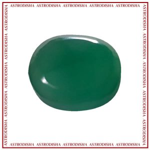 Green onyx natural gemstone